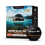Deeper Smart Sonar PRO+ - GPS Portable Wireless Wi-Fi Fish Finder for Shore and Ice Fishing