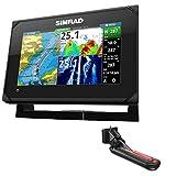 Simrad GO7 XSE Chartplotter/Fishfinder w/TotalScan Transom Mount Transducer