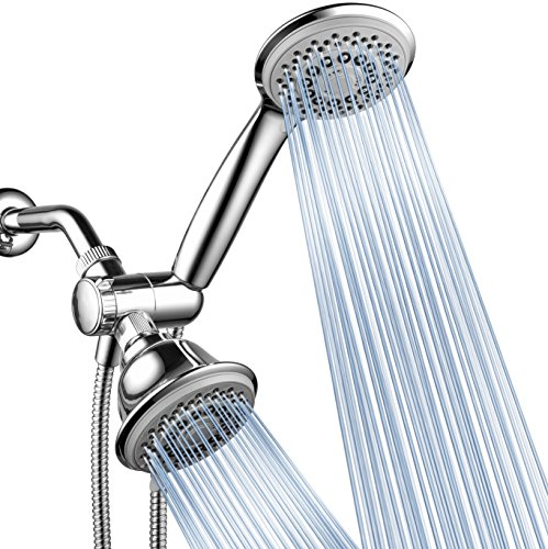 AquaStorm by HotelSpa 30-Setting SpiralFlo 3-Way Luxury Shower Head/Handheld Showerhead Combo