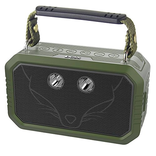DOSS Wireless Portable Bluetooth Speakers with Waterproof IPX6, 20W Stereo Sound and Bold Bass, 12H Playtime, Durable for Phone, Tablet, TV, Gift Ideas - Upgrade