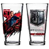 Superman Justice League Movie Pint Glass