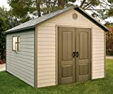 Lifetime 60005 10' x 8' Side Entry Garden Shed