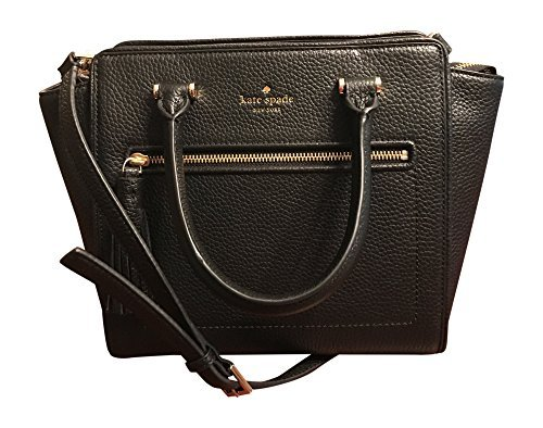 Top zip closure Double rolled handles with approximately 4 inches drop Removable long strap can be adjusted up to approximately 23 inches drop