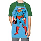ICUP 7598 DC Superman Character Kids Apron, Multicolor