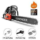 COOCHEER 62CC 20' Gas Chainsaw 2...