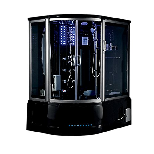 Lifetime Bath Mind Relaxation Spa Massage 2015 Milano Acrylic Steam Shower Unit With Audio Video Entertainment System