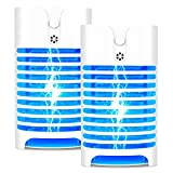 Bug Zapper,Electric Mosquito Zapper, Mosquito Killer, Electronic Insect & Fly Killer for Outdoor and Indoor(2 Packs)