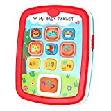Infant Toys Baby Tablet Toys Learning Educational Activity Center for 6  12  18 Month up Boys and Girls with Music Light ABC Numbers Color Games Baby Toys for First Birthday