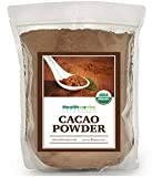 Healthworks Cacao Powder Organic (80 Oz / 5lb) | Cocoa Chocolate Substitute | Certified Organic | Sugar-Free, Keto, Vegan & Non-GMO | Peruvian Bean/Nut Origin | Antioxidant Superfood