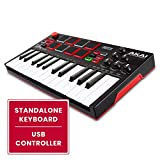 Akai Professional MPK Mini Play | Standalone Mini Keyboard & USB Controller With Built In Speaker,...