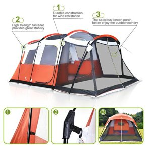 ALPHA-CAMP-6-Person-10-Person-Family-Camping-Tent-Screen-Room-Cabin-Tent-Design