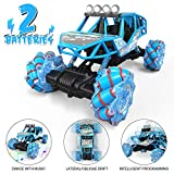 RAGU Drift Remote Control Car 1: 16 Rechargeable RC Truck 2.4 Ghz 4WD High Speed All Terrain Monster Truck with LED Lights & Music, Car Toys for Boys Girls