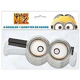 Despicable Me Minion Goggle Party Masks, 8ct
