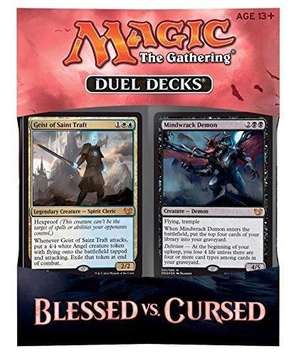 MTG Magic the Gathering - Duel Decks: Blessed vs Cursed