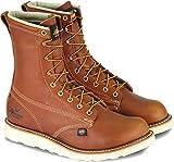 Thorogood American Heritage 8' Plain Toe Boot, Tobacco Gladiator, 10.5 2E US