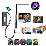 Spy Hidden WiFi Camera - Wireless Mini IP Camera 1080P Portable DIY Home and Business Camaras, Motion Detection - Loop Recording - No Night Vision Nanny Cam