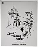 Sax Tracing Paper Pad, 25 lbs, 19 x 24 Inches, White, Pack of 50