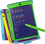 Boogie Board Magic Sketch Color LCD Writing Tablet + 4 Different Stylus and 18 Stencils for Drawing, Writing Tracing eWriter Ages 3+ (Magic Sketch)