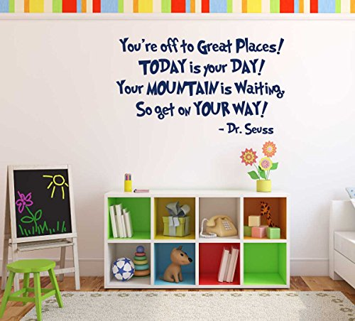 Dr Seuss Quote Decals