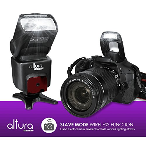 Altura Photo Ap N1001 Speedlite Flash For Nikon Dslr Camera With