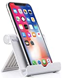 Anker Portable Multi-Angle Stand for Tablets, e-readers and Smartphones, Compatible with iPhone, iPad, Samsung Galaxy / Tab, Google Nexus, HTC, LG, Nokia Lumia, OnePlus and More (Silver)