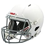 Riddell Victor Youth Helmet, White/Gray, X-Large