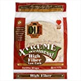 "Ole Mexican High Fiber Low Carb Flour Tortillas, ""8 Count (Pack of 6)"