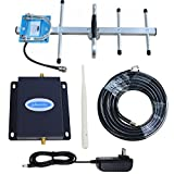 Cell Phone Signal Booster AT&T 4G LTE Cell Signal Booster Amplifier ATT Cell Phone Booster Repeater 700Mhz Band12/17 Phonelex ATT T-Mobile Mobile Phone Signal Booster