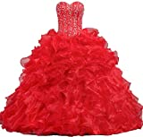 Product review for ANTS Women's Sweetheart Formal Quinceanera Dress 2017 Prom Gown