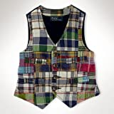 Product review for Polo Ralph Lauren Boy's Madras Patch Button Front Vest