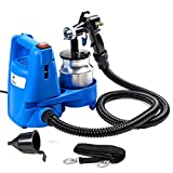 Goplus Paint Sprayer, 650W High Power Electric Spray Gun W/Hose, 3 Spray Patterns, 1000ml Large Container and Cooling SYS, Perfect for Beginner and Home Painting Projects