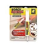 BulbHead Original Roach Doctor Cockroach Gel Ready-to-Use Cockroach Gel Bait - Outdoor & Indoor Roach Killer with Syringe Applicator