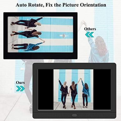 Digital-Picture-Frame-1280x800-169-IPS-Screen-Photo-Auto-Rotate-Background-Music-Support-1080P-Videos-Auto-OnOff-Timer-Calendar-Alarm-Clock-Include-32GB-SD-Card7-Inch-Black