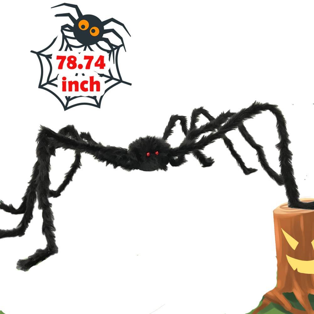araña peluda Halloween