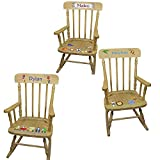 Product review for Personalized Boys Wooden Rocking Chair
