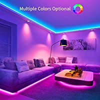 Led Strip Lights Govee 10m 32 8ft Rgb Multicolour 12v Led Light With Remote Control Box For Bedroom Kitchen Cupboard Decoration With Bright 5050 Leds Strong 3m Adhesive 2pcs X 5m Amazon Co Uk Lighting