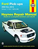 Ford F-150 2WD & 4WD Pick-ups (04-14) Haynes Repair Manual (Does not include F-250, Super Duty or diesels. Does not include F-150 Heritage, Lightning or Raptor models.)