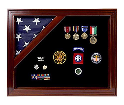 Military Shadow Box with Display