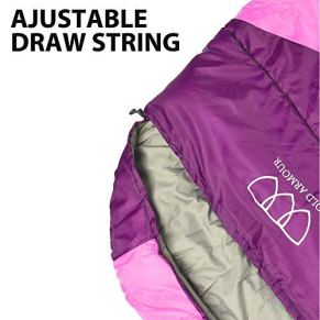 Gold-Armour-Sleeping-Bag-for-Indoor-and-Outdoor-Use-Great-for-Kids-Boys-Girls-Teens-Adults-Ultralight-and-Compact-Bags-for-Sleepover-Backpacking-Camping