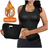 Product review for Gotoly Women's Underbust Corset Hot Sweat Neoprene Shirt Vest Body Shapers