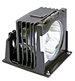 Replacement Video TV 915P026010 Projector Lamp Bulb Mount Module 915P026010 915P026A10 Compatible for Mitsubishi WD-52627, WD-52628, WD-62627, WD-62628 TV's