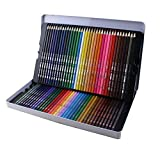 Bringsine Professional Colored Pencils for Kids Adult Coloring -Coloring Pencils with Tin case Non-toxic Drawing Pencils for Artist Sketch,Secret Garden Coloring Book (Not Included) Assorted 72