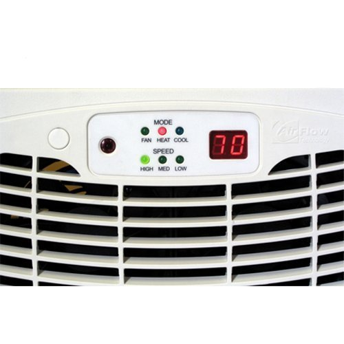 Air Flow Breeze ULTRA with Remote Control (Almond) (2.625'H x 13.875'W x 7.625'D)