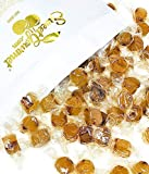 SweetGourmet Ginger Cuts | Old-fashioned Candies With Natural Ginger Oil | Bulk Hard Candy Wrapped | Kosher | 2 Pounds
