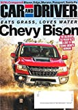 CAR AND DRIVER Magazine April 2019 CHEVY BISON Cover, SUV'S Compared, Colorado ZR2