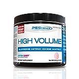 PEScience High Volume Caffeine Free Pump Pre Workout, Cotton Candy, 252 Gram