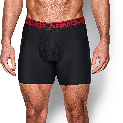 "Under Armour UA Original Series 6"" Boxerjock – 2-Pack 5XL Black"