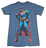 DC Comics Superman Man of Steel Verbiage Licensed Graphic T-Shirt - Small