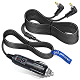 T POWER Dual Screen Auto Car Charger Ac Dc Adapter Compatible with Insignia Sylvania Philips Ematic Portable DVD Player Ly-02 Ay4133 Ay4197 cigarette plug Power Supply