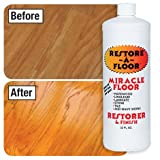 Restore-A-Floor Floor Finish - Wood Floor Polish and Hard Wood Floor Wax to Rejuvenate Floors Including Marble Floors, Vinyl Floors, and Laminate Floors